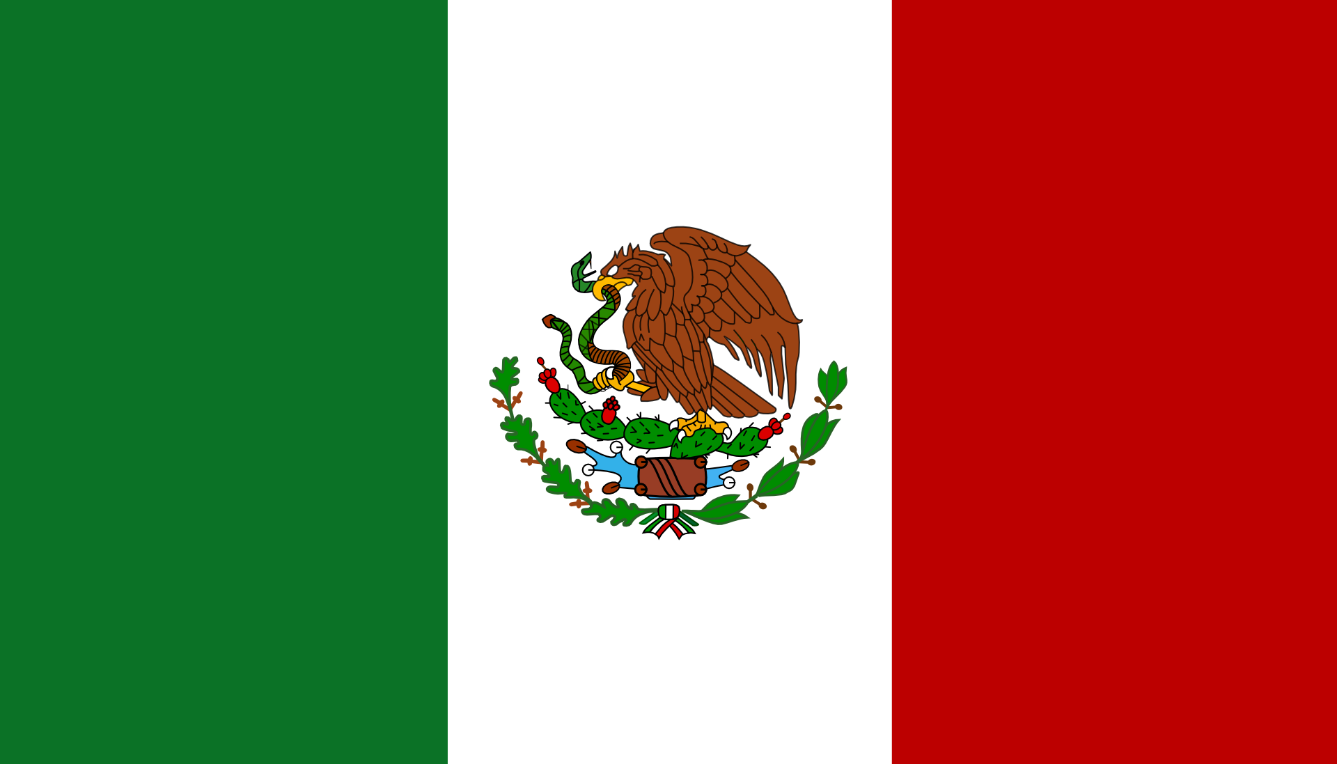 Mexican Flag Bandera Mexicana