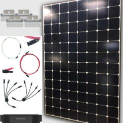 327W Solar Panel Kit with charge controller and accessories